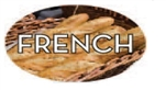 French Flavor Label Nuts Seeds and Grains - 1.25 in. x 2 in.