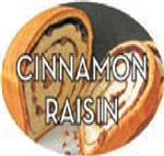 Cinnamon Raisin Flavor Label Sweet - 1.25 in. x 2 in.