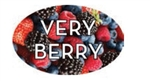 Very Berry Flavor Label - 1.25 in. x 2 in.