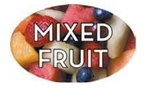 Mixed Fruit Flavor Label - 1.25 in. x 2 in.