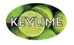 Key Lime Flavor Label - 1.25 in. x 2 in.