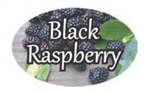 Black Raspberry Flavor Label - 1.25 in. x 2 in.