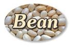 Bean Flavor Label - 1.25 in. x 2 in.