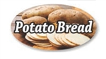 Potato Bread Flavor Label Nuts Seeds and Grains - 1.25 in. x 2 in.