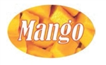 Mango Flavor Label - 1.25 in. x 2 in.