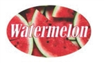Watermelon Flavor Label - 1.25 in. x 2 in.
