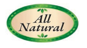 All Natural Flavor Label Healthy Choices - 1.25 in. x 2 in.