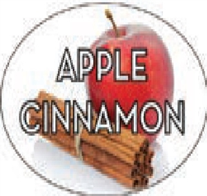 Apple Cinnamon Flavor Label Sweet - 1.25 in. x 2 in.