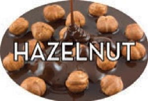 Hazelnut Flavor Label Nuts Seeds and Grains - 1.25 in. x 2 in.