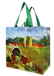 Earthwise Generic Farm and Silo Print Woven PP Shopping Bag
