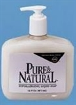 Pure and Natural Pump Soap Bottle - 16 Oz.