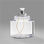 Sterno 80 Hour Soft Light Liquid Candle Clear - 3.80 in. x 3.36 in.
