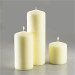 Sterno White Pillar Candle - 3 in. x 9.5 in.