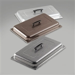 Sterno Chafing Dish Lids Silver Vein
