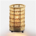 Sterno 12 Hour Gold Beaded Lamp - 5 in.