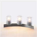 Sterno Candlescape Crescent Complete Accent Lamp - 4.25 in. x 11.75 in.