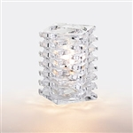 Sterno Clear Marquee Glass Square Lamp - 4.25 in.