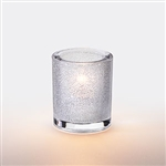 Sterno Clear Mini Bubbles Lamp Round - 3.25 in.