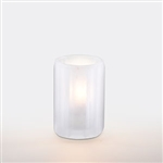 Sterno Mini Paragon Round Glass Frost Lamp - 4 in.