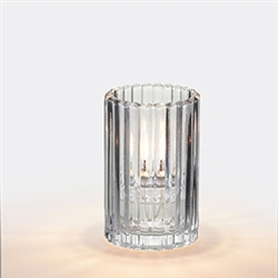 Sterno Round Glass Clear Paragon Candle Lamp - 5 in.