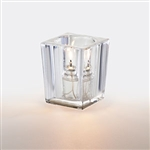 Sterno Clear Square Large Lamp - 3.75 in.
