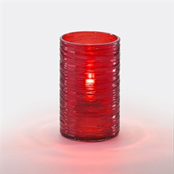 Sterno Red Twister Lamp - 5 in.