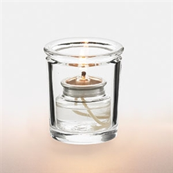 Petite Votive Glass Lamp Clear - 3.25 in.