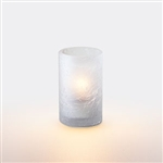 Sterno Frost Crackle Votive Glass Lamp - 3.5 in.