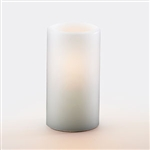 Sterno White Hollow Pillar Lamp - 5.5 in.