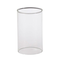 Sterno Clear Glass Cylinder Globe - 3 in. x 4 in.