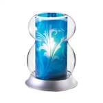 Sterno Interchangeable Blue Lamp Shade