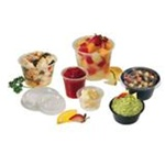 Conex Complements Containers, 2 oz, Clear