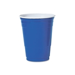 Party Plastic Blue Cold Drink Cup - 16 oz.