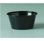 Solo Souffle Cups Black 4 oz