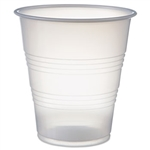 Galaxy Polystyrene Plastic Translucent Cold Cup - 7 oz.