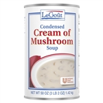 Unilever Best Foods Legout Cream Of Mushroom Condensed Soup 50 Oz.