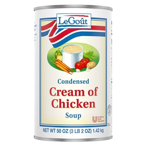 Unilever Best Foods Legout Cream Of Chicken Condensed Soup 50 Oz.