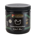 Custom Culinary Masters Touch Chicken Flavor Base - 1 Lb.