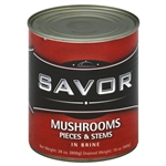 Imports Mushroom Pieces and Stems - 16 Oz.