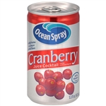 Ocean Spray Cranberry Juice Cocktail Drink - 5.5 Oz.
