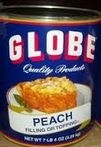 Birds Eye Foods Globe Sliced Peach Filling