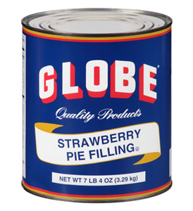 Birds Eye Foods Globe Strawberry Pie Filling