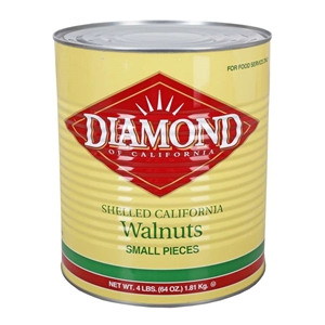 Diamond Walnut Small Pieces - 4 Lb.
