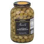 Imports Queen Pitted Olive - 1 Gal.