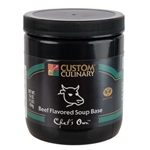 Custom Culinary Chefs Own Beef Flavor Base Granules - 1 Lb.