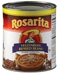 Vegetarian Refried Beans #10 Can - 112 Oz.