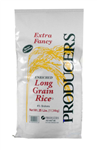Producers Rice White Long Grain Rice Four Present - 25 Lb.