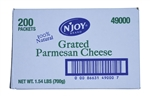 Sugar Foods N Joy Grated Parmesan Cheese - 3.5 Grm.