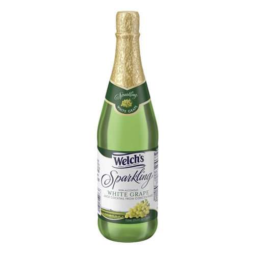 Welchs White Grape Sparkling Juice 25 4 Oz