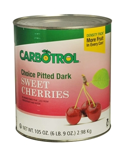 Leahy IFP Fruit Carbotrol Pitted Dark Cherry